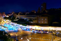 Φω'τα νύχτας της Βαλένθια 3 Στοκ εικόνα με δικαίωμα ελεύθερης χρήσης