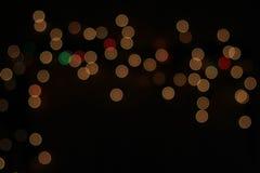 Φω'τα νύχτας - υπόβαθρο χρώματος - όμορφος εορτασμός Στοκ Φωτογραφία