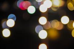 Φω'τα νύχτας Bokeo στοκ φωτογραφία με δικαίωμα ελεύθερης χρήσης