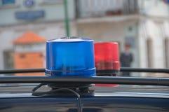 Φω'τα περιπολικών της Αστυνομίας Στοκ φωτογραφίες με δικαίωμα ελεύθερης χρήσης