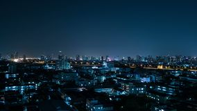 Φω'τα πόλεων νύχτας, χρονικό σφάλμα απόθεμα βίντεο
