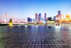 Φω'τα πόλεων της Κίνας Chongqing Στοκ Εικόνα