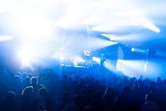 Φω'τα σκηνών στη συναυλία Προβολέας αιθουσών φωτισμού equipment στοκ φωτογραφίες