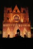 Φω'τα στον καθεδρικό ναό Στοκ Εικόνες