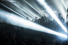 Φω'τα συναυλίας στοκ εικόνες