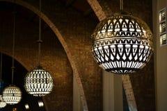 Φω'τα σφαιρών στο παρεκκλησι Στοκ φωτογραφίες με δικαίωμα ελεύθερης χρήσης