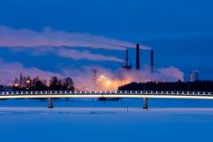 Φω'τα χειμερινού πρωινού Στοκ Εικόνες