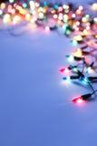 Φω'τα Χριστουγέννων στοκ εικόνα με δικαίωμα ελεύθερης χρήσης