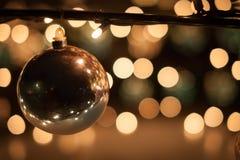 Φω'τα Χριστουγέννων Στοκ εικόνες με δικαίωμα ελεύθερης χρήσης