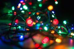 Φω'τα Χριστουγέννων στοκ φωτογραφία
