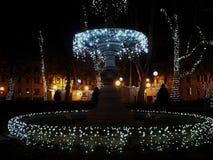 Φω'τα Χριστουγέννων Στοκ Εικόνα