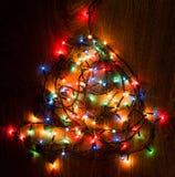 Φω'τα Christmass Στοκ φωτογραφία με δικαίωμα ελεύθερης χρήσης
