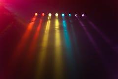 Φω'τα Disco Στοκ Φωτογραφία