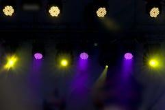 Φω'τα Disco Στοκ φωτογραφίες με δικαίωμα ελεύθερης χρήσης