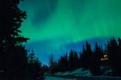 Φω'τα Norrthern Στοκ εικόνα με δικαίωμα ελεύθερης χρήσης