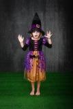 Φόβος αποκριών παιδιών στοκ φωτογραφίες με δικαίωμα ελεύθερης χρήσης