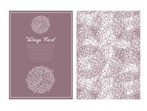 φόντου καρτών floral τρύγος σύστασης πετουνιών λουλουδιών παλαιός Στοκ φωτογραφία με δικαίωμα ελεύθερης χρήσης