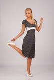 φόρεμα αναδρομικό Στοκ Εικόνες