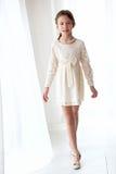 Φόρεμα δαντελλών Στοκ εικόνες με δικαίωμα ελεύθερης χρήσης