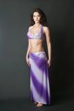 φόρεμα Ασιάτης χορευτών Στοκ φωτογραφία με δικαίωμα ελεύθερης χρήσης