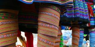 Φόρεμα λεπτομέρειας εθνικό Στοκ Φωτογραφία