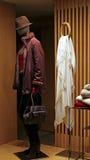 Φόρεμα και τσάντα γυναικείου χειμώνα Στοκ Φωτογραφίες