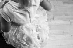Φόρεμα κοριτσιών λουλουδιών στοκ φωτογραφία