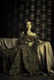 φόρεμα μεσαιωνικό στοκ φωτογραφίες