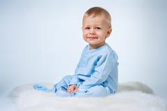 φόρεμα οκτώ μωρών κορίτσι λίγος μήνας ρόδινο thr Στοκ εικόνα με δικαίωμα ελεύθερης χρήσης