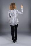 φόρεμα που δείχνει την οπ&iota Στοκ Εικόνες