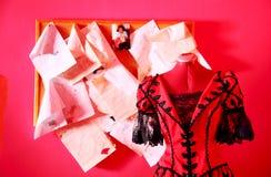 Φόρεμα σε ένα μανεκέν Στοκ εικόνες με δικαίωμα ελεύθερης χρήσης