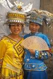 φόρεμα της Κίνας παραδοσι στοκ εικόνα