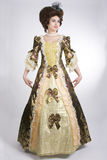 φόρεμα 18 αιώνα Στοκ Φωτογραφίες