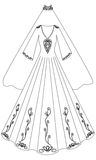 Φόρεμα Στοκ Εικόνα
