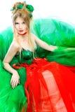 φόρεμα floral Στοκ εικόνα με δικαίωμα ελεύθερης χρήσης