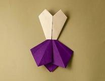 Φόρεμα Origami Στοκ Φωτογραφίες