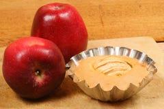 φόρμα κέικ μήλων Στοκ φωτογραφία με δικαίωμα ελεύθερης χρήσης