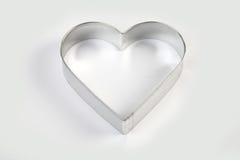 Φόρμα χάλυβα καρδιά-που διαμορφώνεται Στοκ Εικόνες