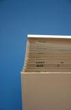 φόρος αρχείων προϋπολογισμών Στοκ φωτογραφίες με δικαίωμα ελεύθερης χρήσης