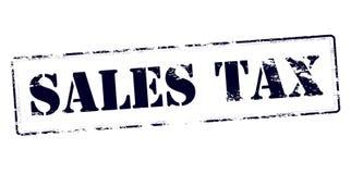 Φόρος επί των πωλήσεων ελεύθερη απεικόνιση δικαιώματος