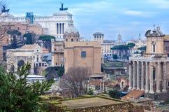 φόρουμ Ιταλία ρωμαϊκή Ρώμη Στοκ Εικόνες