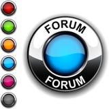 φόρουμ κουμπιών ελεύθερη απεικόνιση δικαιώματος