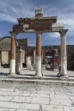 φόρουμ Πομπηία Ρωμαίος στοκ εικόνες
