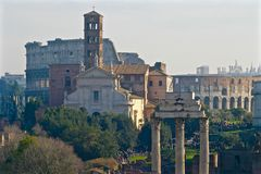 φόρουμ Ρωμαίος στοκ εικόνα με δικαίωμα ελεύθερης χρήσης
