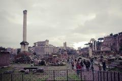 φόρουμ Ρώμη Στοκ Φωτογραφία