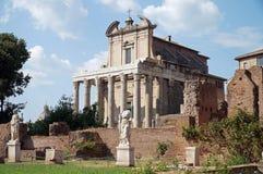 Φόρουμ Romanum, Ιταλία Στοκ εικόνα με δικαίωμα ελεύθερης χρήσης