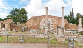 Φόρουμ Romanum στη Ρώμη στοκ εικόνα με δικαίωμα ελεύθερης χρήσης