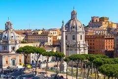 Φόρουμ Trajan στη Ρώμη στοκ εικόνες