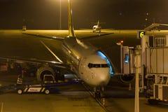 Φόρτωση αεροπλάνων Στοκ φωτογραφίες με δικαίωμα ελεύθερης χρήσης