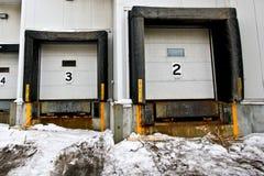 φόρτωση αποβαθρών Στοκ φωτογραφία με δικαίωμα ελεύθερης χρήσης